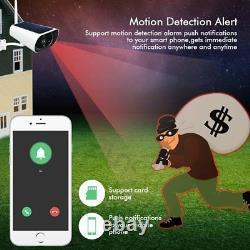 SIM Card 3G 4G Solar Power Wifi Camera Battery 1080P Two Way Audio Security cam