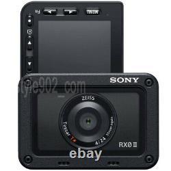 SONY DSC-RX0M2 RX0 II premium tiny tough Digital camera Cam Ship by FedEX