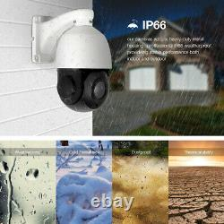 USA 1080P HD IP CCTV Camera Waterproof Outdoor PTZ Security Wired IR Cam Network