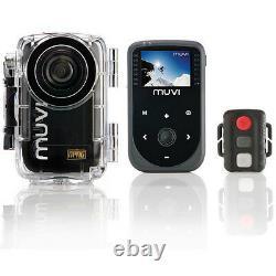 Veho Muvi HD10 NPNG Pro 1080P Action Camera Body Police Waterproof Helmet Cam