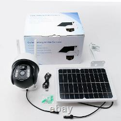 Wireless Wifi PTZ Security Camera Solar Battery Powered 1080P Night Vision Cam