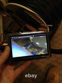 1000'underwater Well Sewer Cam Inspection Étanche Caméra Tft Monitor-recorder