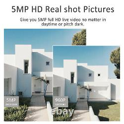 1940p Sans Fil Secuirty Camera Outdoor 20xzoom Caméra Cctv 2wifi Audio 5.0mp