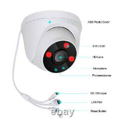 2way Audio Cctv Wireless Security Camera System Outdoor Home 8ch 1080p Avec 1 To