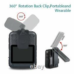 2x Boblov Wn9 1296p Fhd Compact & Portable Body Police Camera Pocket Action Cam