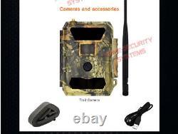 3g Trail Camera 32 Go De Chasse Sécurité Cam Scout Vision Nocturne Imperméable À L'eau