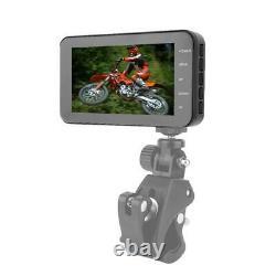 4 Pouces Moto Étanche Dvr1080p Double Objectif Caméra Dash Cam Driving Recorder