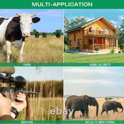 4k Trail Camera Wifi Bluetooth Deer 30mp Jeu De Chasse Cam Nightvision Imperméable À L'eau
