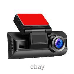 4k Voiture Wifi Dash Cam G-sensor Dual Camera Loop Recording Magnetic Wdr Recorder