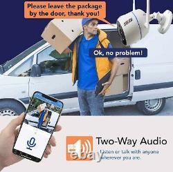 8ch Dans Les Deux Sens Audio Home Security Camera System Wireless Wifi Surveillance Dvr