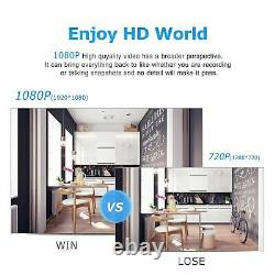 Accueil 1080p Wireless Outdoor Security Camera System Wifi 8ch 1tb Disque Dur Cctv