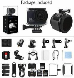 Akaso V50 Pro Se Action Camera 4k 20mp Écran Tactile Wifi Sport Cam Underwater