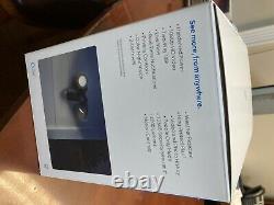 Anneau Projecteur Cam Wired Plus Outdoor Wired Caméra De Surveillance Full Hd Noir