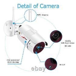 Anran 2way Audio Security Camera System Outdoor Wireless Home Safety 12 Moniteur