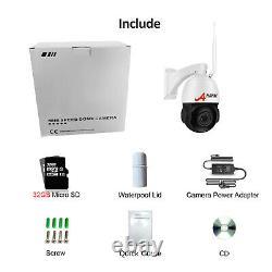 Anran 5.0mp Wifi Dôme Ip Caméra De Sécurité Sans Fil Extérieure Ptz 20xzoom 64gb Nuit