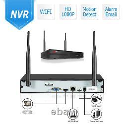 Anran 8ch 1080p Wireless Security Camera System Hd Wifi Nvr 4 Ipcs Set 1tb Nuit