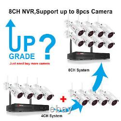 Anran Security Camera System Wireless 8ch 1080p Hd Cctv Wifi Nvr Outdoor 1to Disque Dur