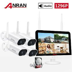 Anran Security Camera System Wireless 8ch Hd 1080p Ip Audio 2mp Wifi 1tb Outdoor