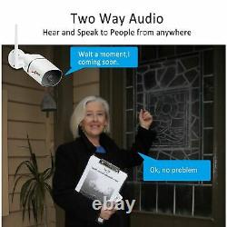 Anran Wireless Audio Security Camera System Outdoor Cctv 8ch Home Security Vidéo