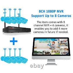 Anran Wireless Camera System 1080p Outdoor Home Security System Waterproof Cctv