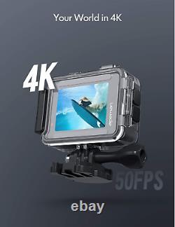 Apeman A100 Action Camera 4k 20mp Wifi Web Cam Underwater Waterproof 40m Nouveau