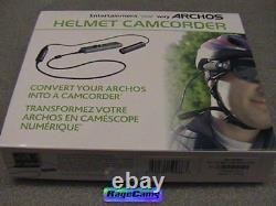 Archos Helmet Cam Lipstick Tube Waterproof Bullet Camera Av 405 505 605 Gen5+mic