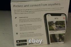 Arlo Essential Security Cam Bundle 2 Caméras 1 Video Doorbell Model #vmk2260