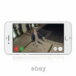 Bague Spotlight Cam Wired Hd Caméra De Sécurité Avec Spotlights Intégrés