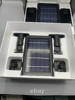 Bague Stick Up Cam Et Solar Panel Bundle Caméras De Sécurité Sans Fil Open Box