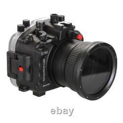 Boîtier De Plongée Étanche Seafrogs De 40m/130ft Pour Sony A7riii Ilce-7rm3 Cam