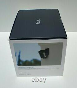 Brand New Scelled Anneau Spotlight Cam Mount Wired Outdoor Caméra De Sécurité Noir
