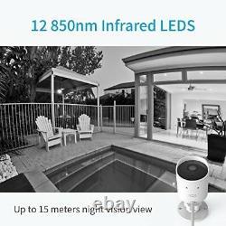 Caméra De Sécurité Extérieure Yi 1080p Cloud Cam 2.4g Sans Fil Ip Waterproof Vision