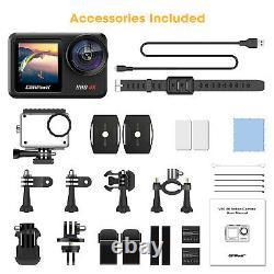 Campark V40 4k Action Camera 20mp Wifi Double Écran Tactile Eis Sport Waterproof Cam