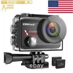 Campark X30 Native 4k 60fps Caméra D'action 20mp Eis Touch Wifi Imperméable Cam 40m