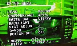 Color Marine Ir Camera Day Night De-fog Reverse Cam Imperméable À L'eau Pour Raymarine Gps