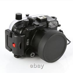 Couverture De Boîtier Sous-marin Étanche De 40m Pour Canon Powershot G7x Mark II Cam
