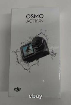 Dji Osmo Action, 4k Action Cam 12mp Appareil Photo Numérique, Nouveau! Scellé