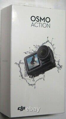 Dji Osmo Action Cam Appareil Photo Numérique Avec 2 Écrans 36ft/11m Waterproof 4k