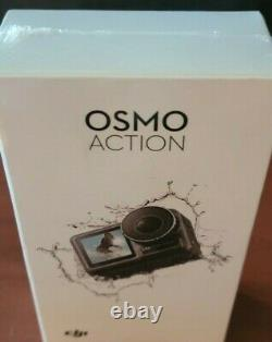 Dji Osmo Action Cam Caméra Numérique Avec 2 Écrans 36ft/11m Imperméable 4k Nouveau