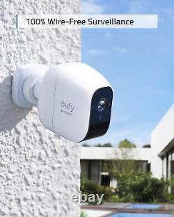 Eufy Security Eufycam E 1080p Home Security Camera System Weatherproof 3-cam Kit