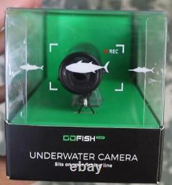Gofish Underwater Camera 1080p 60fps Float Accessory 500' Waterproof Brand Nouveau