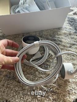 Google Nest Cam Caméra De Sécurité Extérieure White Two (2) Pack