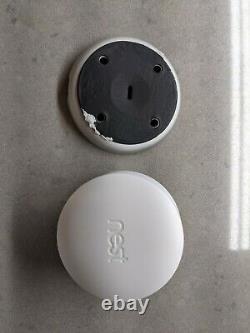 Google Nest Cam Iq A0055 Caméra De Sécurité Extérieure Blanc (4k Hdr Sensor)