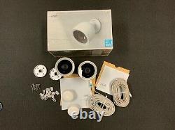 Google Nest Cam Iq Outdoor Smart Security Camera (2-pack)