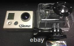 Gopro Hd Hero Casque Caméra Motorsports Surf Cam 1080p Utilisé Travail 5mp+extras