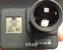 Gopro Hd Noir Hero7 Dentaire Chirurgie Buccale Caméra Chirurgien Dentiste Cam 50 MM Zoom 4k