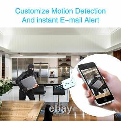 Hd 1080p Outdoor Wired Security Camera System Ir Avec 4ch Ahd Dvr 1 To Hard Drive