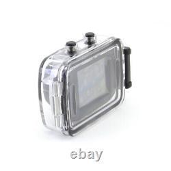 Mini Extérieur Imperméable À L'eau 1.3m Cmos Digital Hd Action Camera Camcorder Black S