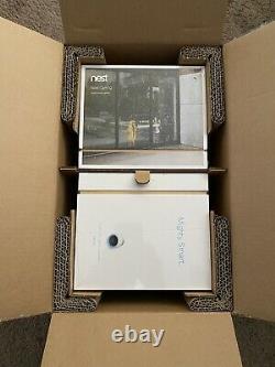 Nest Cam Iq Caméra Sans Fil D'extérieur Nc4101us Pro Garantie De 5 Ans. Cas De 2