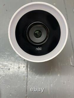 Nest Cam Iq Caméra Sans Fil Extérieure Blanche